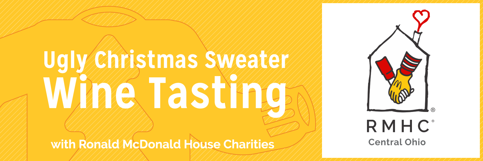 RMHC Ugly Christmas Sweater Wine Tasting